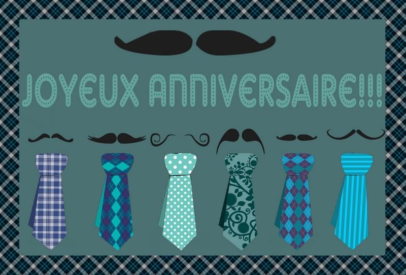 Carte Anniversaire Isa De Chazelles Yves Moustache Editions