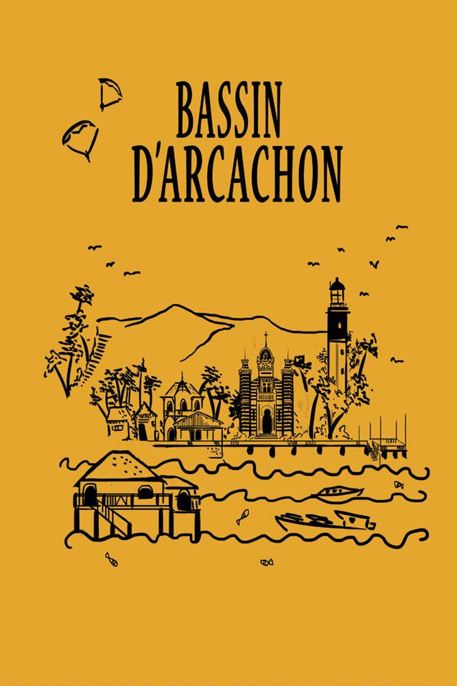 Cahier A5 Lea Rocton Bassin D Arcachon Editions Cote Bord Eau