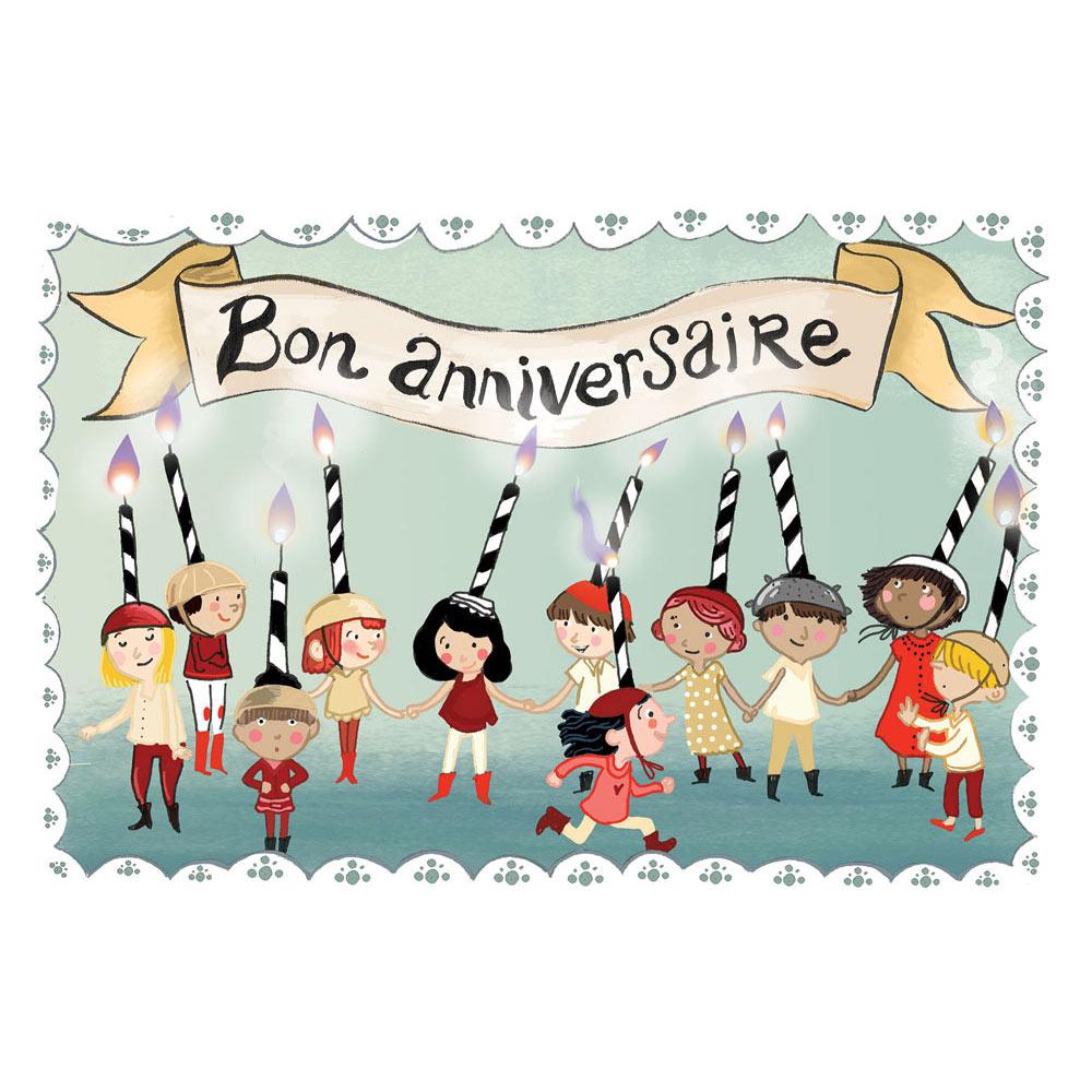 Carte Anniversaire Mayana Itoïz Bon Anniversaire Editions Côté