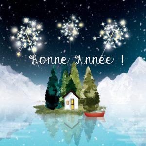 carte bonne année Delphine Balme