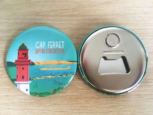Magnet décapsuleur Phare du Cap Ferret